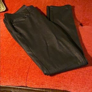 Not your daughters jeans leggings size 6 black NMC